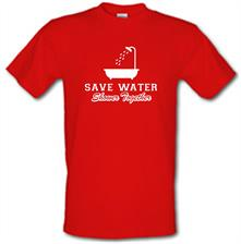 Save Water Shower Together t shirt
