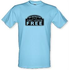 Sex Instructor First Lesson Free t shirt
