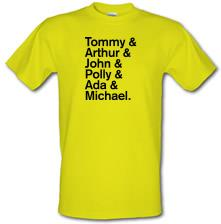 The Shelby Family t shirt