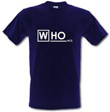 Who MD t shirt
