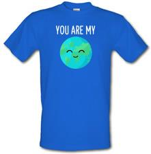 You Are My World t shirt