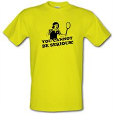 John McEnroe - You Cannot Be Serious! t shirt