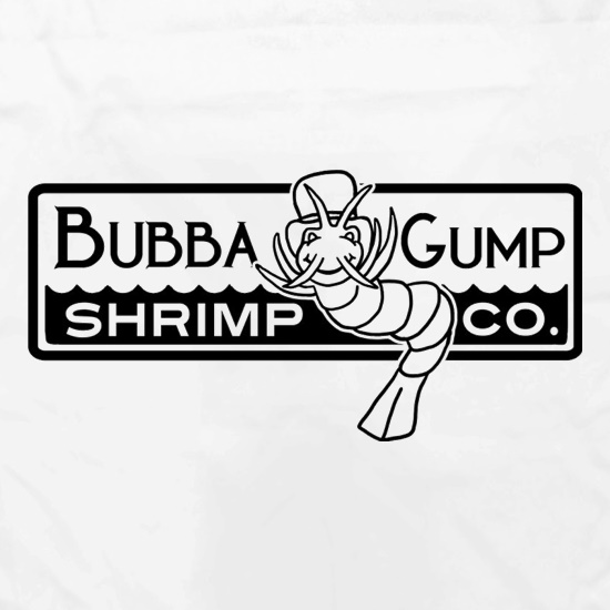 bubba gump shrimp co apronchargrilled