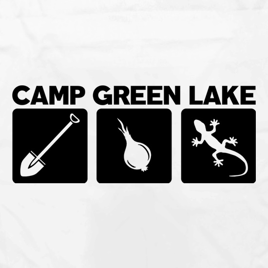 Camp Green Lake t shirt