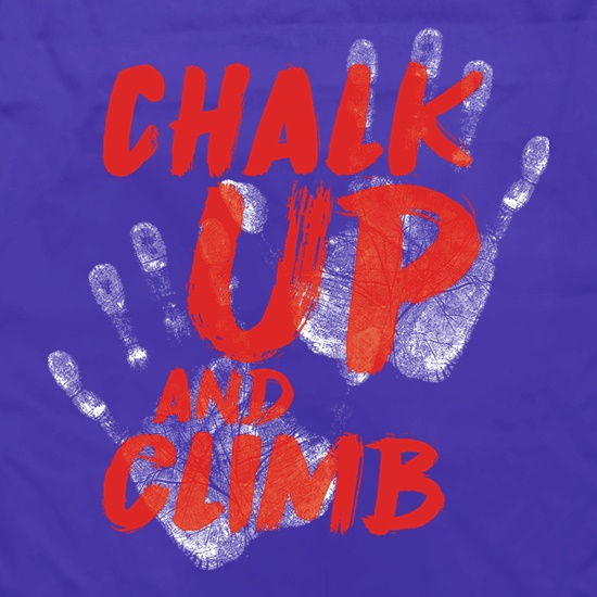 Chalk Up And Climb t shirt