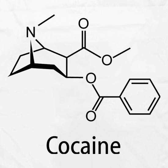 Cocaine t shirt