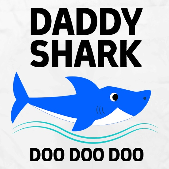 Daddy Shark t shirt