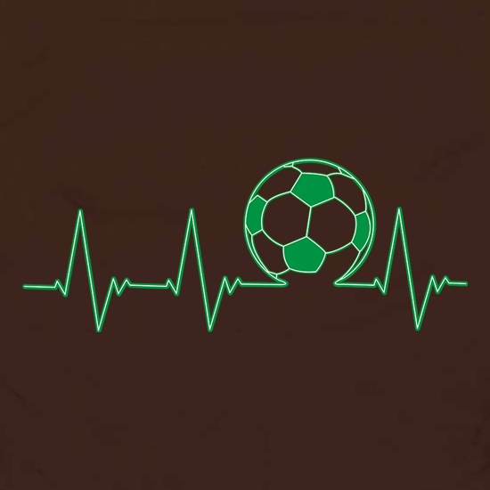 Football Heartbeat t shirt