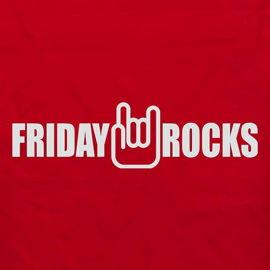 Friday Rocks t shirt