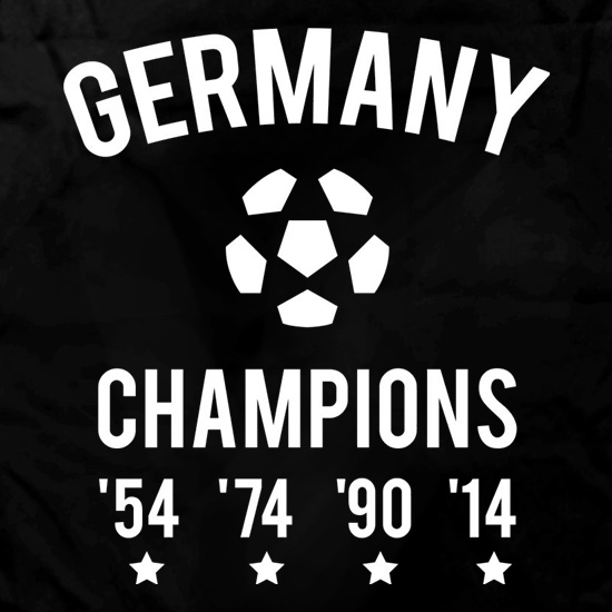 Germany Champions t shirt