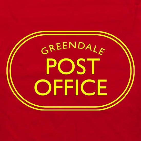 bdc37c0b0c6473 Greendale Post Office t shirt ...