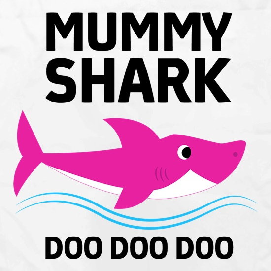 Mummy Shark t shirt