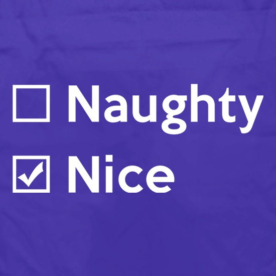 Nice Not Naughty t shirt