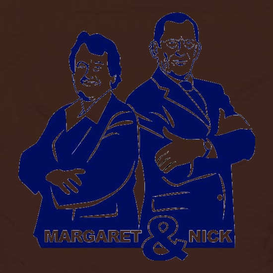 Nick & Margaret t shirt
