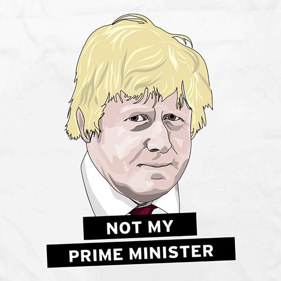 Not My Prime Minister t shirt
