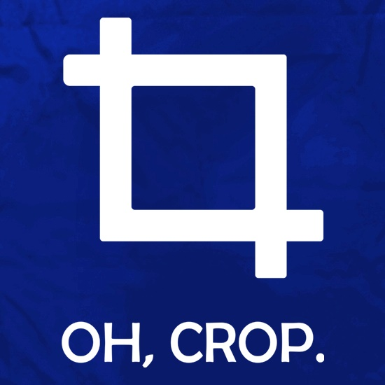 Oh Crop! t shirt