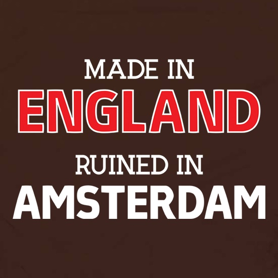 Ruined In Amsterdam t shirt