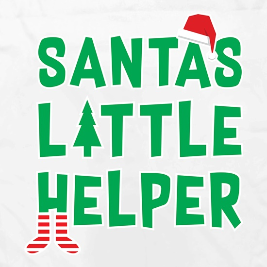 Santas Little Helper t shirt