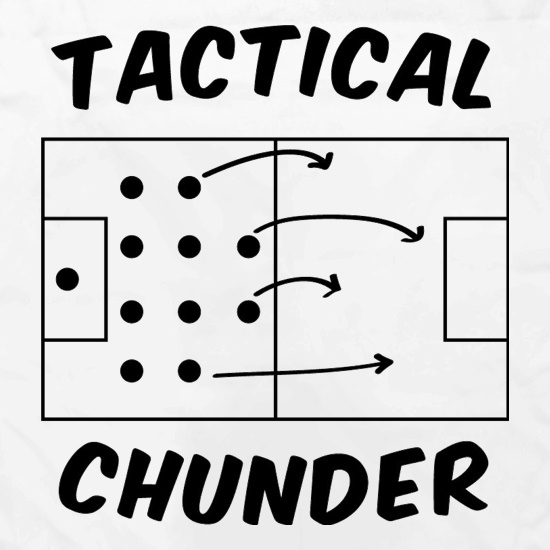 Tactical Chunder t shirt