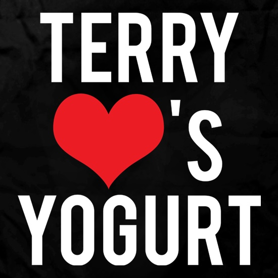 Terry Loves Yoghurt t shirt