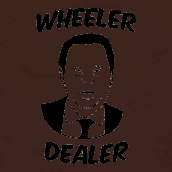 Harry Redknapp Wheeler Dealer t shirt