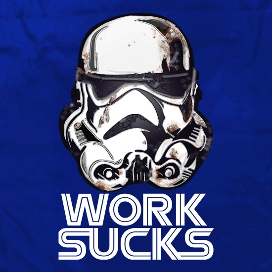 Work Sucks Helmet t shirt