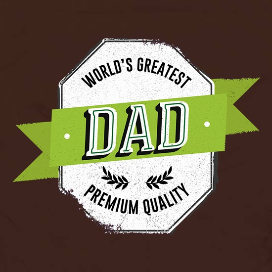 World's Greatest Dad Premium Quality t shirt