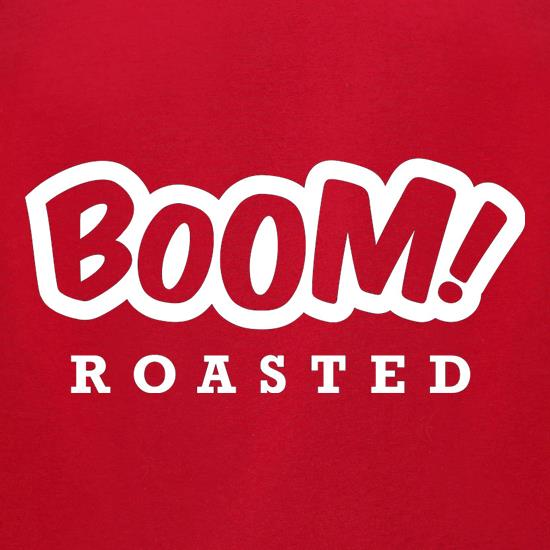 Boom Roasted t shirt