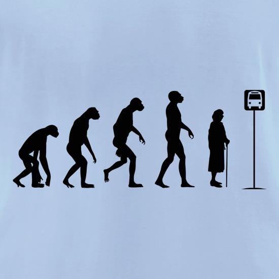 Evolution - Bus Stop t shirt