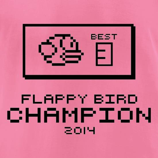 Flappy Bird Champion t shirt