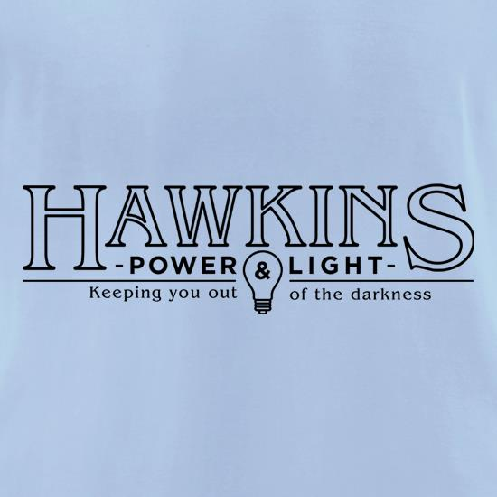 Hawkins Power & Light t shirt