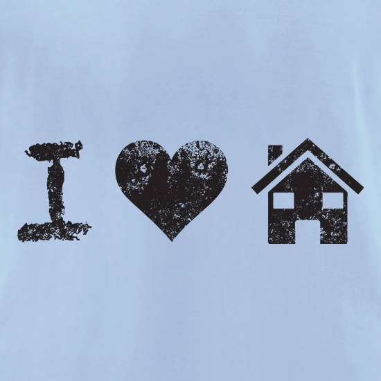 I Love House Music t shirt