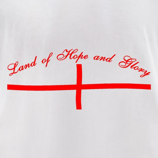 Land of hope and Glory t shirt