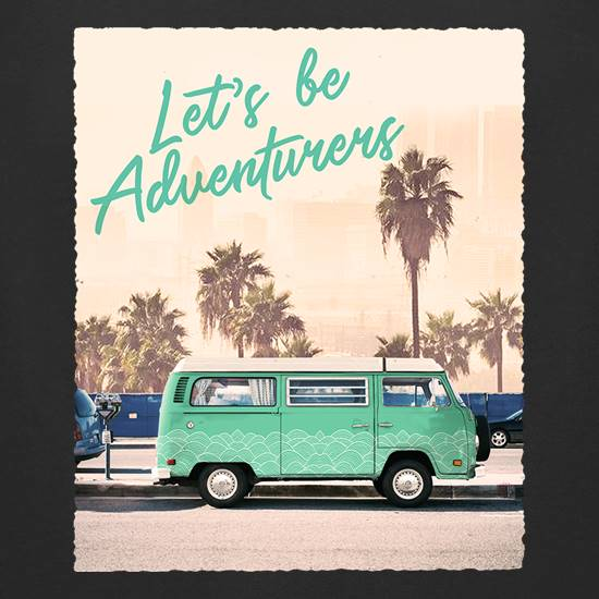 Let's Be Adventurers t shirt