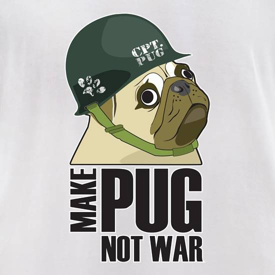 Make Cpt Pug Not War t shirt
