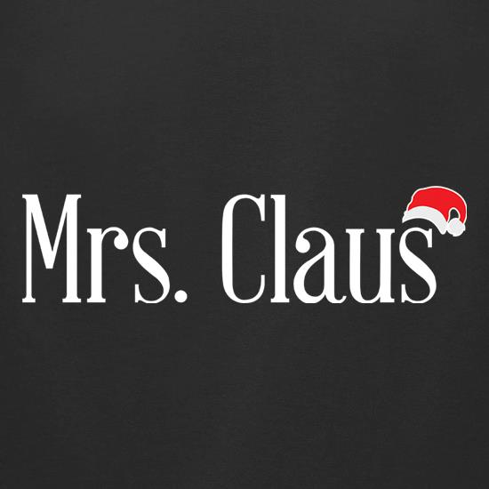 Mrs Claus t shirt
