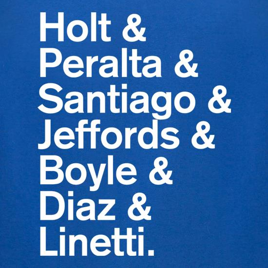 Nine-Nine Cast t shirt