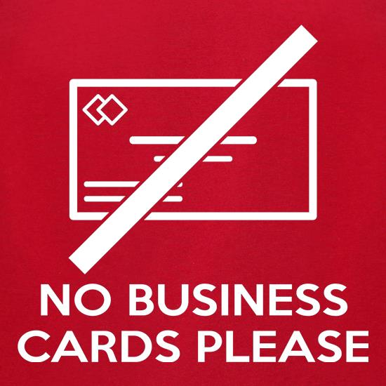 No business cards please t shirt by chargrilled for Business cards for t shirt business