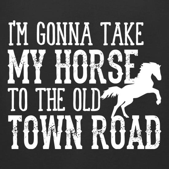 Old Town Road t shirt
