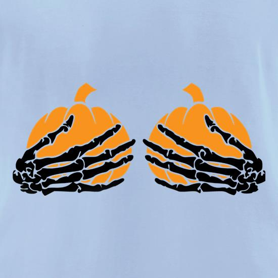 Pumpkin Boobs t shirt