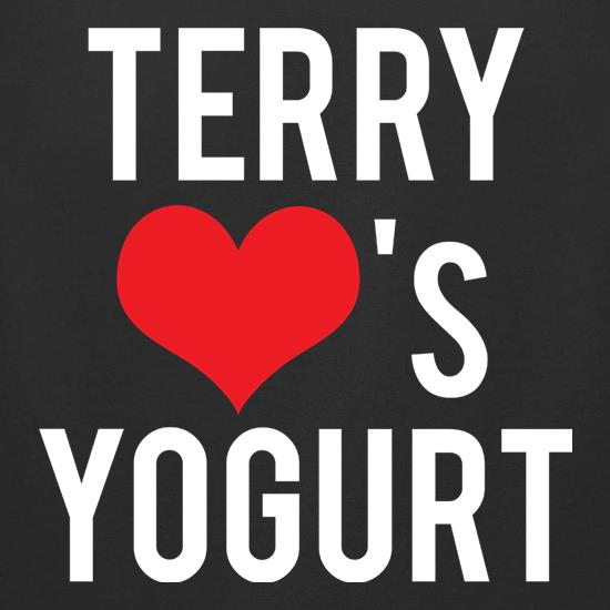 Terry Loves Yogurt t shirt