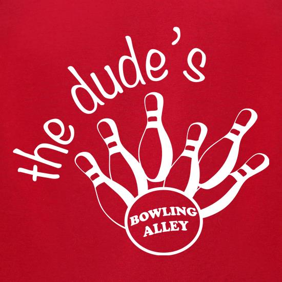 The Dudes Bowling t shirt
