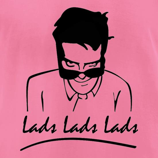 Thomas Gray Lads Lads Lads t shirt