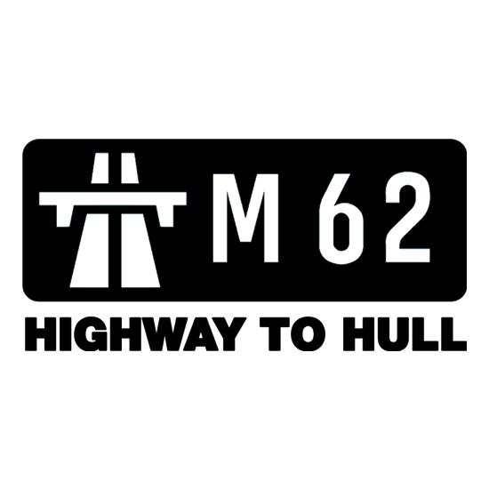 M62 Highway to Hull t shirt