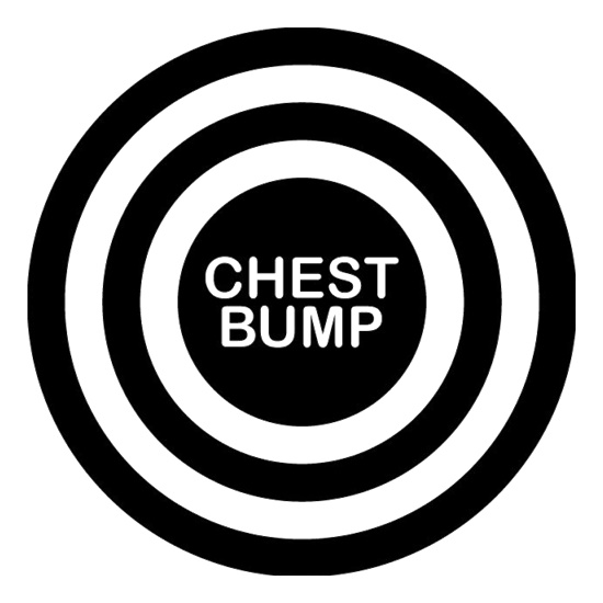 Chest Bump t shirt