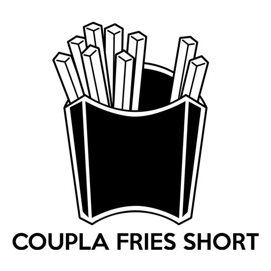 Coupla Fries Short t shirt