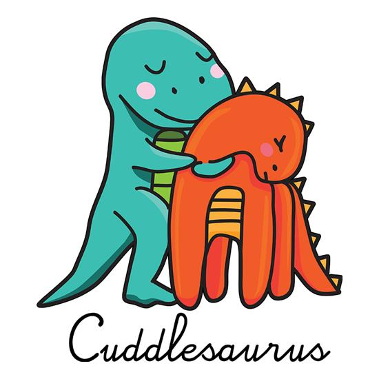 Cuddlesaurus t shirt