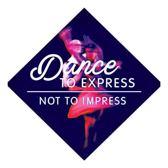 Dance To Express, Not To Impress t shirt