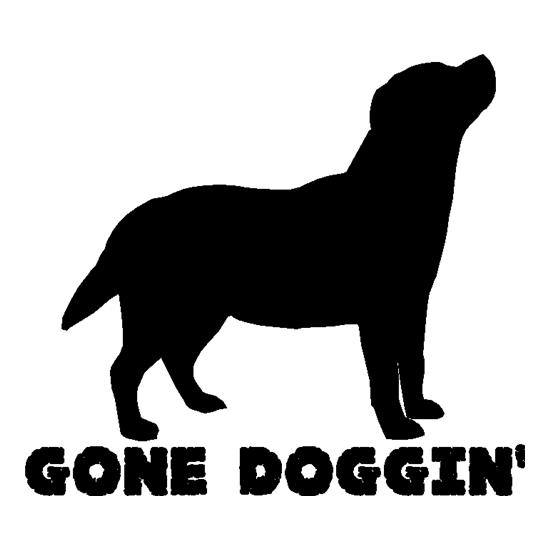 Gone Doggin t shirt