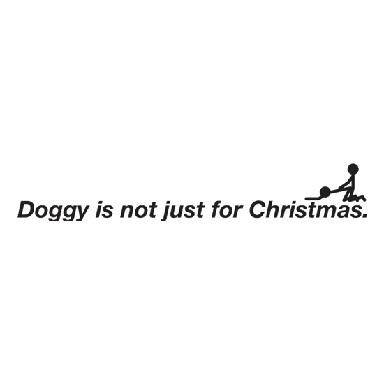 Doggy Is Not Just For Christmas t shirt